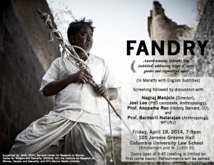 Fandry poster final
